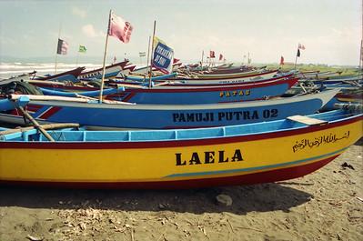 Boats near Lengkong