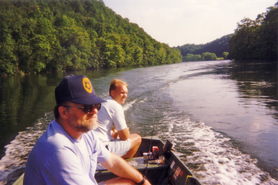 Fishing on the Clinch River