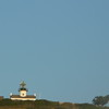 the Point Loma Light House from the bay -- waaaaay zoomed in