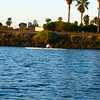 this is a favorite place for scullers and kayaks