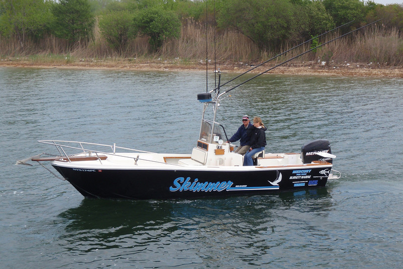 """The new and completely restored """"Skimmer"""" will be fishing this 2010 season."""