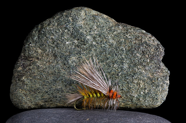 Dry Fly on the Rocks