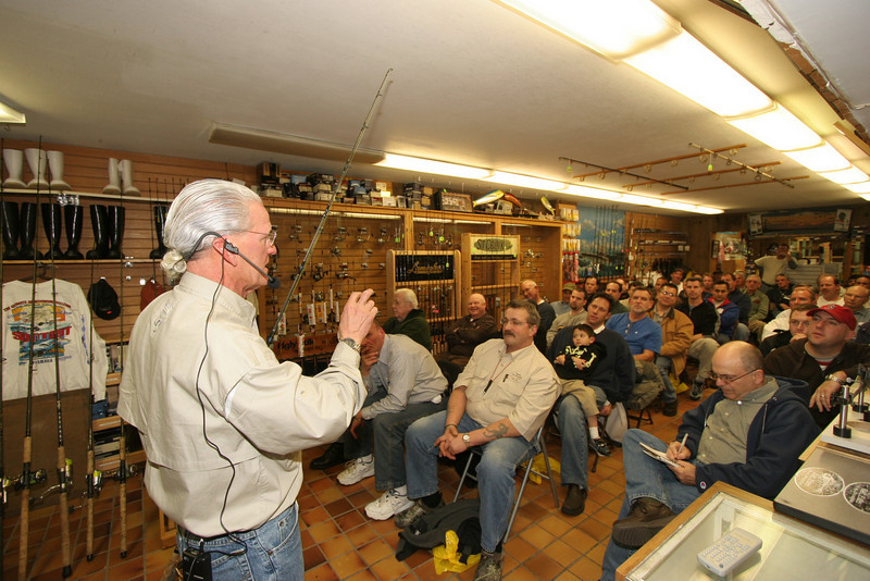 "If you missed the Striped Bass workshop on February 7th at Augie's Bait and Tackle in Babylon you're in luck. Due to the overwhelming response Capt Al will be back on March 13th.  <pre><font color=""#FFFF00"" size=""3""><b>Captain Al's Live Bait Fishing Seminar Thursday March 13, 2008 7:00 - 9:00 PM</b></font><font size=""3""> Augie's Bait and Tackle Babylon NY </font><font color=""#FFFF00"" size=""3"">Seating Limited so Register by March 10!</font><font color=""black"" size=""4""><font size=""2""> </font></font><font color=""black""><font size=""2"">Custom live bait rod will be raffled off Captain Al's live bait bass rigs 3 for 5 dollars Cost is just $25 per person Refreshments will be served Registration at Augie's Custom Tackle</font></font></pre> <pre>Call 631.669.9837 www.augiestackle.com</pre>"
