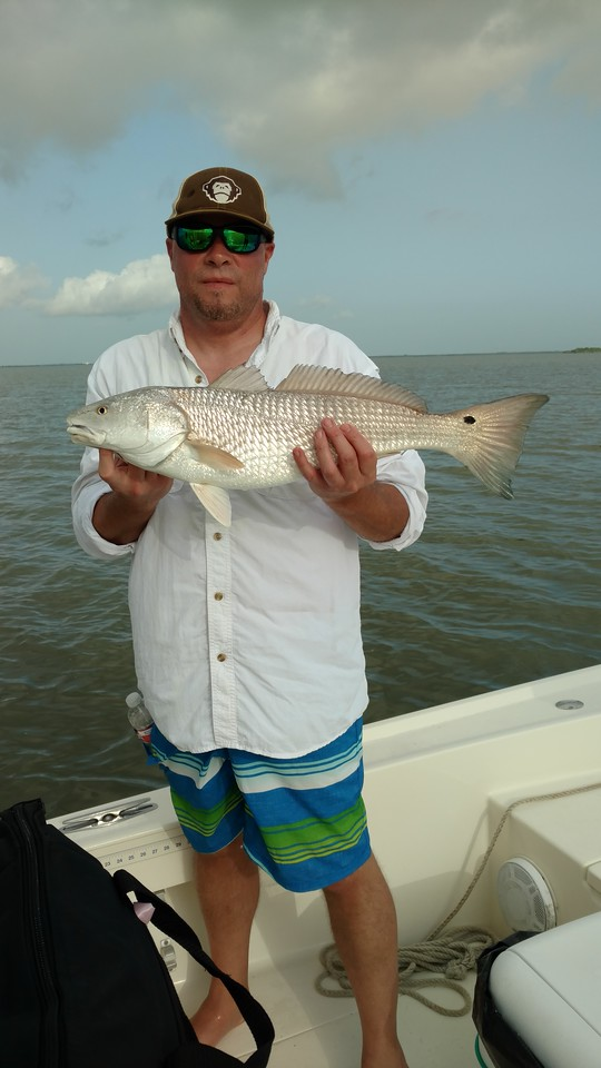 David with 26 Redfish