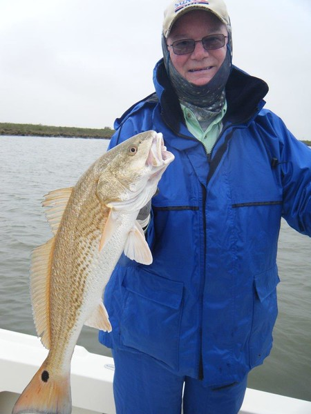 Mr. Gene Sims  7lb redfish