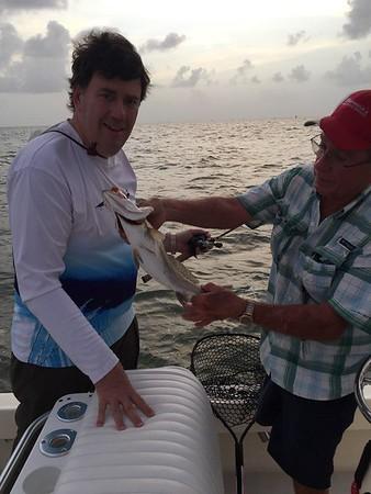 Gerard Long with Capt Paul