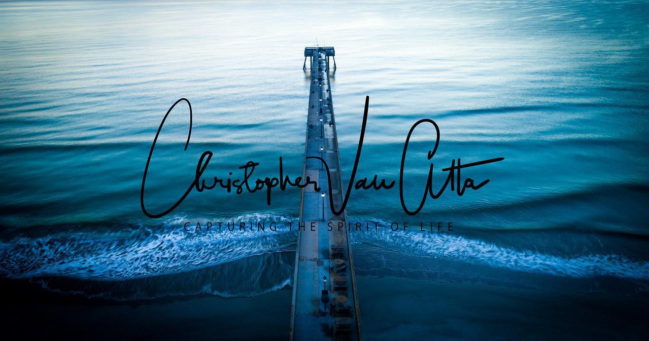 Aerial Johnny Mercer Pier | Wrightsville Beach NC