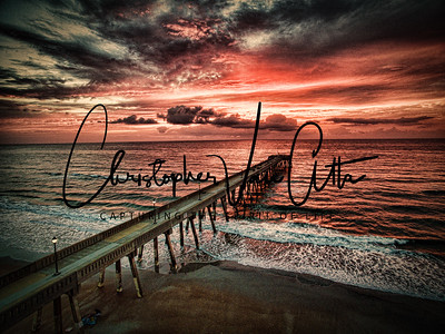 Johnny Mercer Pier Sunrise Photography