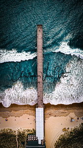 Aerial | Drone Photo of Crystal Pier | Oceanic