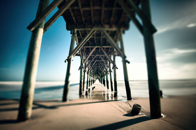 Surf City NC Pier Photography