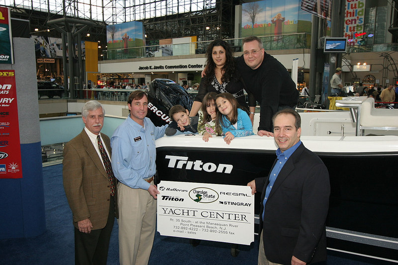"""<p align=""""left"""">1/6/2007<br> <br> The Fisherman magazine drew the winner of the 2006 dream boat contest at the New  York Boat. The lucky fisherman was Robert Quinn of New Jersey. This is the first  boat for Robert and his family and they cant wait to get out and fish on their  new Triton.<br> <br> <a href=""""http://www.youtube.com/watch?v=Pfd41pfyLm8"""">Check out the video on  Youtube</a><br> <br> <br> &nbsp;</p>"""