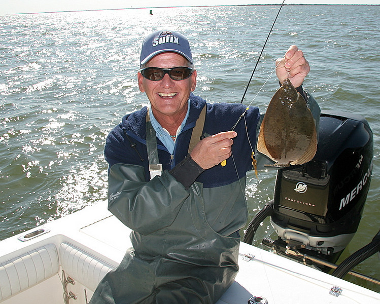 4/14/2008<br /> <br /> I fished with Scott Leonard and Mike Andriani of Augie's Tackle. We had a few flounder and a bunch of skates in West Channel.