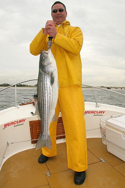 Here is Jeff with a nice 22 pound fish.