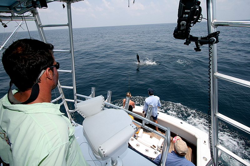 5/2/2008<br /> <br /> Captain Mike once again did a great job running the boat while Kristine Anderson fought the Sailfish to the boat.