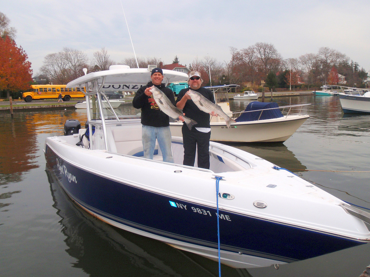 We fished them by the six can and it was non stop action with fish up to about 20 pounds. <br /> <br /> When we ran out of bait we switched to plugs on the inlet bars and rips and had non-stop action.