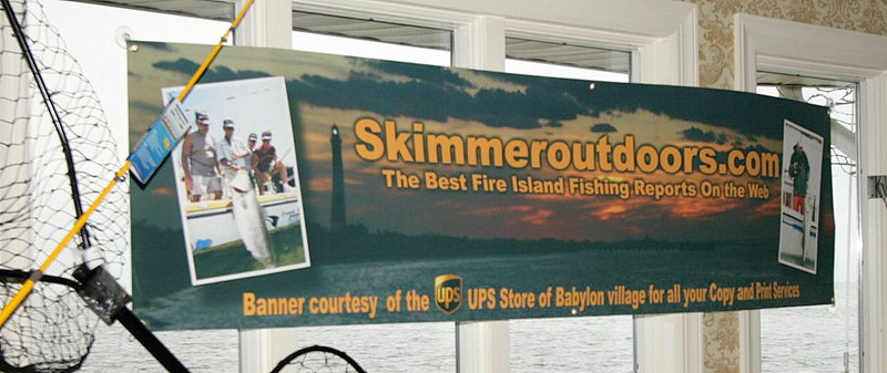 "<pre><font size=""4"" color=""#FF0000"">I need your help.</font></pre> <pre><font color=""#FF0000"">Ray Bartlett of The UPS store in Babylon Village was kind enough to enlarge some images from our website and make a banner that we used to decorate the Riverview restaurant with. While packing up after the tournament I noticed the poster of Al was missing then the skimmeroutdoors banner went missing. I know many of you had a great time during the awards ceremony and dinner and if by chance someone may know who may have accidentally or intentionally taken these items please have them drop them off the the Riverview or contact me by email tim@skimmeroutdoors.com. Thanks for your help.</font></pre>"