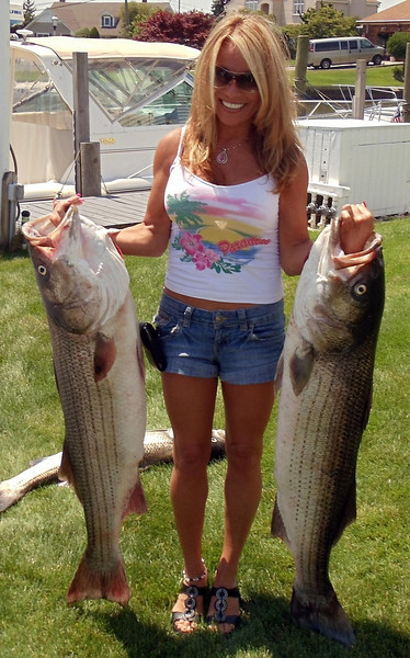 Date Caught: JUNE<br /> <br /> Location: OCEAN<br /> <br />  SOME PIX OF THE FUN WE HAD OVER LAST FEW WEEKS..THANKS FOR ALL YOUR HELP CAPTAIN AL. WE WERE ALL ABLE TO ENJOY THIS TREMENDOUS RUN OF NICE FISH..<br /> <br /> BOYD RIEDELL