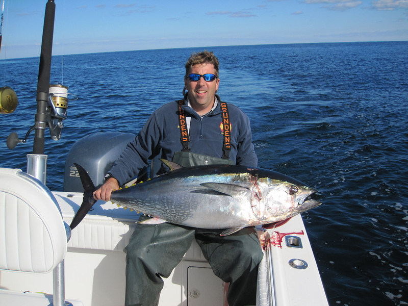 Caught this 52 inch bluefin east of the Linda on 11-3-10.    <br /> <br /> Bobby Kerr