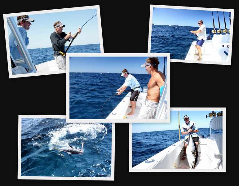 8/28/2010<br /> <br /> The day had promised calm seas with a slight SE swell in the PM.  As would have it, the day was far from calm.  Ended up having to use a sea anchor to be able to work the jigs with any success. After encountering a small mechanical issue at the start of the day, we still made a good day of it.  Arrived on the fishing grounds about an hour and a half behind schedule but still managed 8 nice fish for the day!  After the first 10 -15 miles of the return trip, the ride was beautiful !  A great day was had by all.<br />  <br /> Paul  Krause