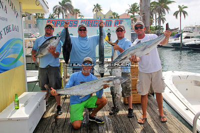 2014 Pompano Beach Saltwater Shootout - Afternoon Express Weigh In