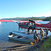 Loading the Beaver for a fly-out fishing trip to Fog Lake.