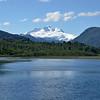 Cerro Tronador over Hess Lake.<br /> Tuesday January 8, 2013
