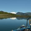 Cerro Tronador dominates the view from Hess Lake.