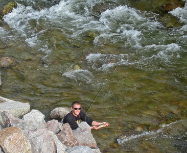 Fishing Sept 2011 Boulder Canyon, CO - Joel, Nick and Brett