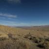 Looking back at Mono Lake