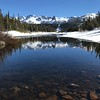 2017-04-29  Checked out Twin Lakes, too much snow