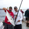 Ron and Jeff with a nice jig caught yellowtail.