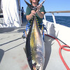 "Jeanne with the ""smaller"" of her two tuna!!"