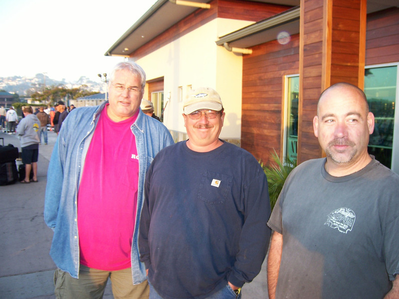Roy Esses, Jeff Moore and Chris Voge.