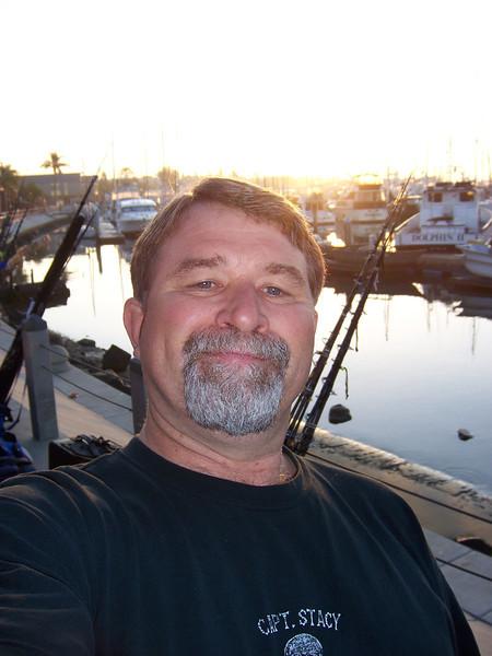 Cliff Hayden self portrait.