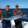 Doug Moore with one of two Wahoo caught on trip.