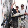 Vincent Gammarano w/yellowfin tuna.