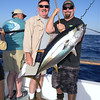 Doug Moore w/yellowfin tuna.