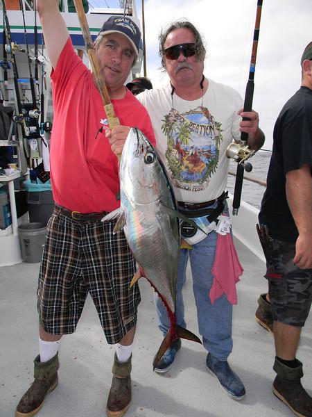 Charlie Carlson w/yellowfin tuna