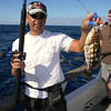 Ron Moy w/Calico bass.