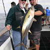 Carl Patchin w/yellowfin tuna.