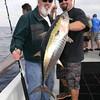 Carl Patchin w/yellowfin tuna.