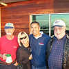 Paul Viale, Wendy Moy, Ron Moy and Don Tienharra.