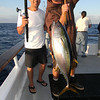 Ron Moy w/ yellowfin tuna.