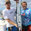 Cliff Hayden and Brandon with Cliff's wahoo.