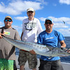 Rick Sneddon and Joel and Jeff with his Wahoo