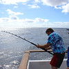 Cliff Hayden cranking on a wahoo