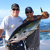 Yours truly and Rene with a nice Yellowfin Tuna