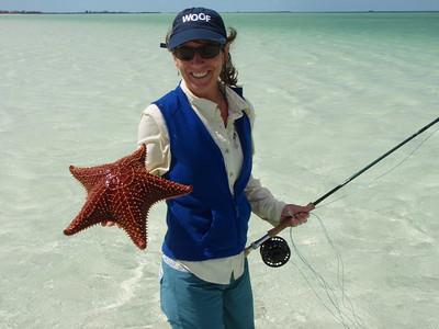 Annie & a Starfish