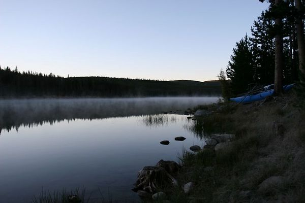 Big Ok Lake (Island Lake) British Columbia Fly Fishing Trip in Late September