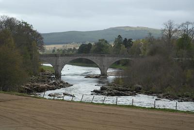 Potarch Bridge, River dee